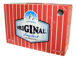 Hartwall Original Long Drink Cranberry 5,5% 24x33cl